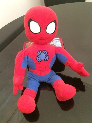 Pelúcia Homem Aranha Que Fala!! Lindo E Muito Fofo!! 43cm - R$ 89,00