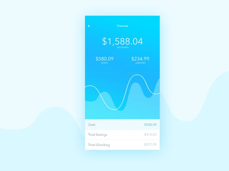 Finance screen concept for an Investment App. Let me know if you have suggestions! Thanks!