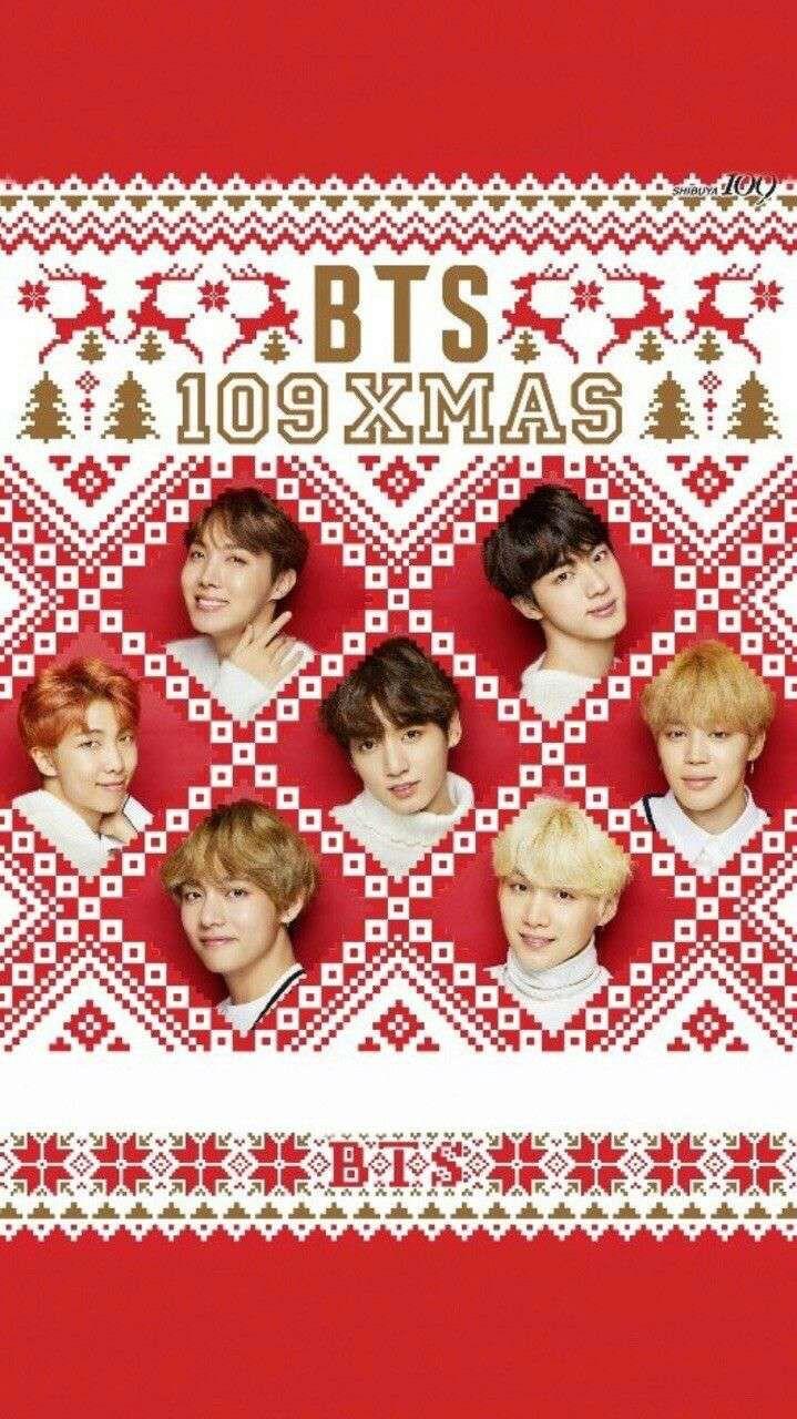 Pin By Alicia Olis On Bts In 2019 Bts Bts Christmas Bts Wallpaper