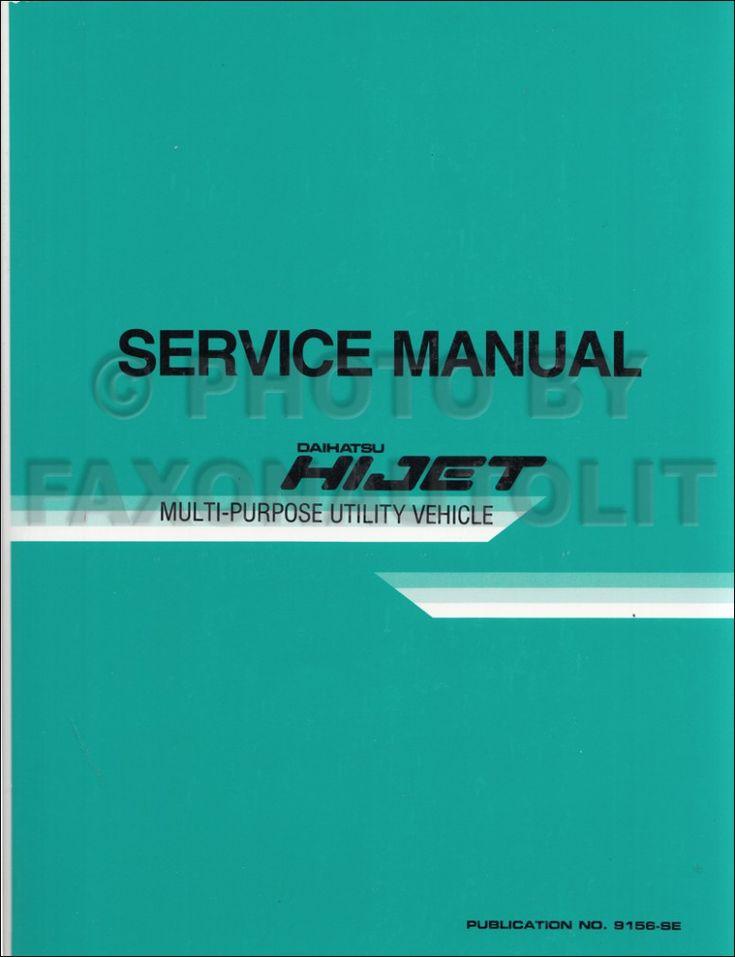 Daihatsu Hijet Engine Diagram Guide  2020