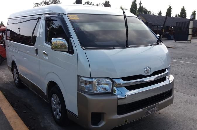 Private Arrival Transfer from Kalibo Airport to Caticlan Port by Van A coordinator will welcome you at the Kalibo Airport Exit Gate and assist you to your private van reserved to you. Experience a 2-hour drive from the airport until Caticlan port. You will be traveling exclusively for your group. A few stopover can be requested along the way.A tour coordinator will welcome you at Kalibo International Airport Arrival Exit Gate holding a welcome board with your full name on it. ...