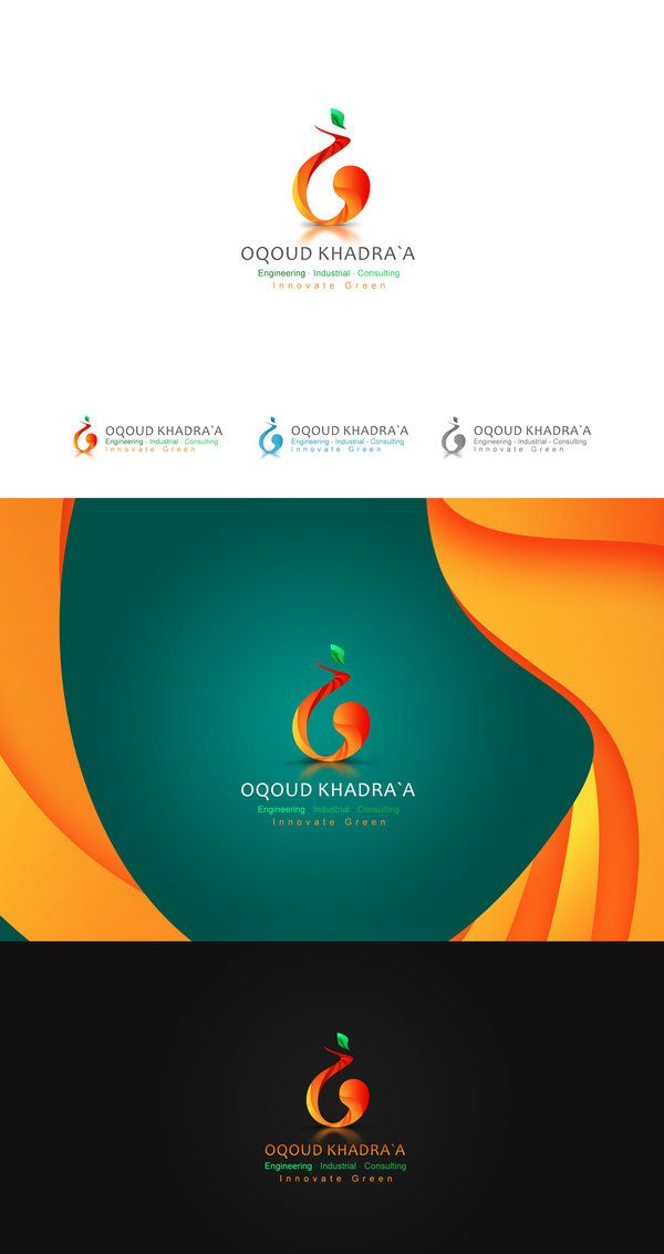 Green innovate Logo Design by ahmedelzahra on deviantART
