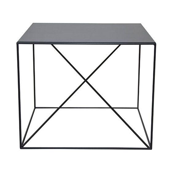 MONOQI | X Side Table - Black