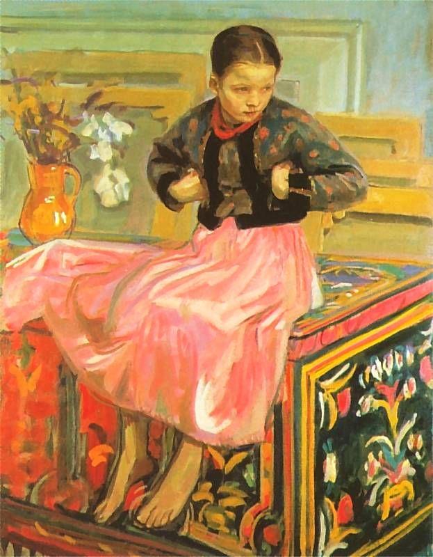 Dziewczynka z Bronowic   Wojciech Weiss