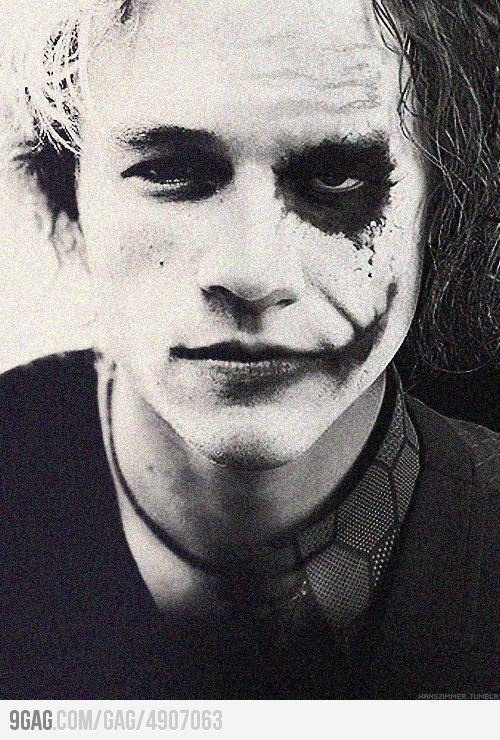 everybody's got a dark side, Heath Ledger, Joker, The dark knight