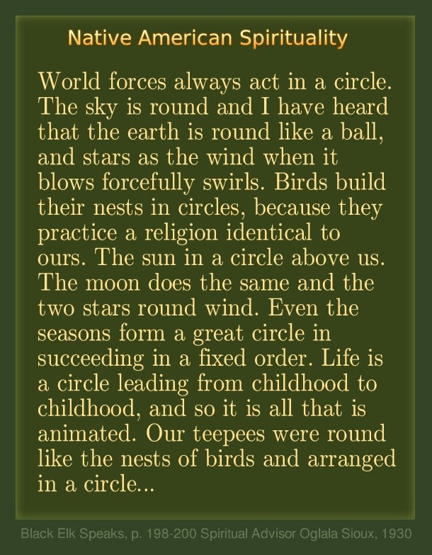 Native American Spirituality Quotes. QuotesGram