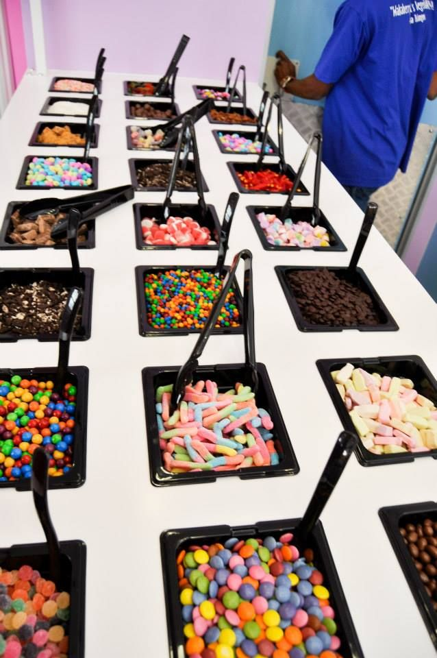 Wakaberry toppings bar