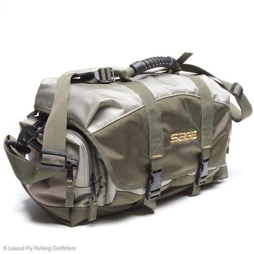Sage dxl fly fishing kit gear bag leland upgrade for Fly fishing luggage