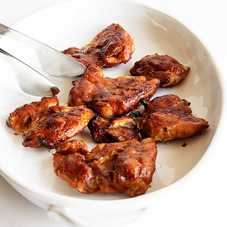 Baked Bbq Chicken Thighs: Honey BBQ Oven Baked Chicken Thighs