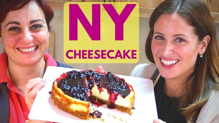 NEW YORK CHEESECAKE 🍮 CON CLIO 🌟💄 - Ricetta e Vlog al Supermercato 🚙