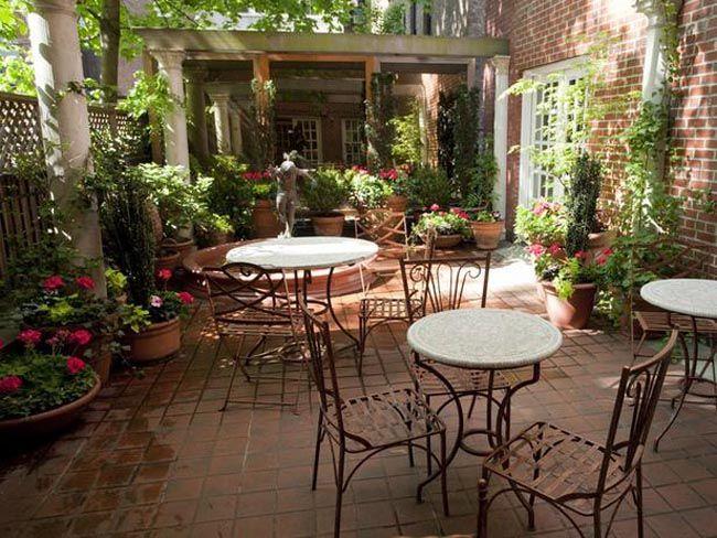 Como decorar un patio interior peque o patio interior pinterest patio interior patios y - Como decorar un patio pequeno interior ...