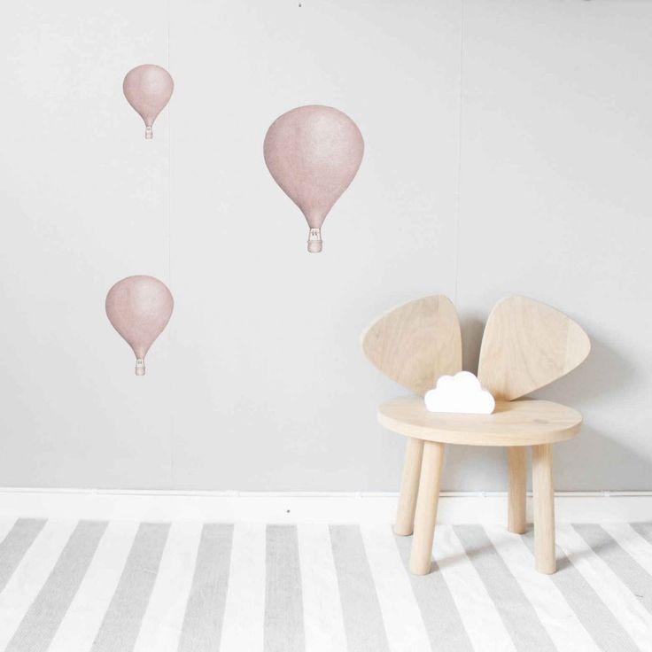 Luftballonger väggstickers 3-pack