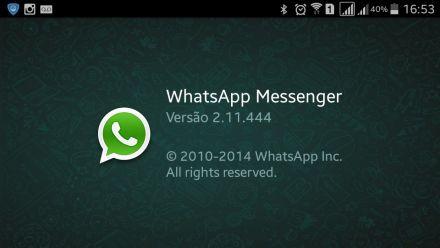 Nova atualização do WhatsApp, permite desativar a função de notificação de leitura. Confira!