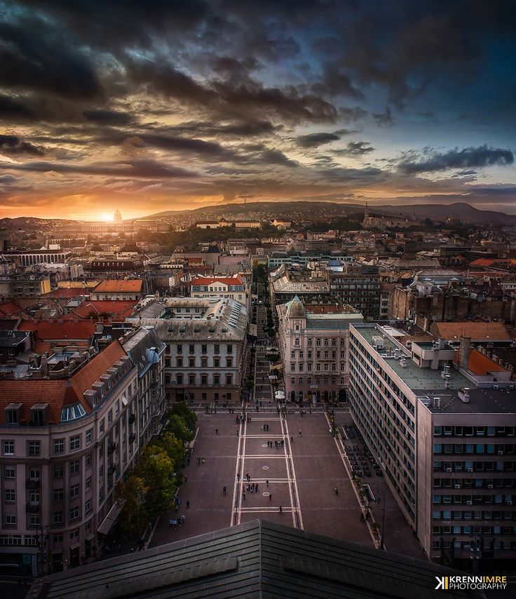 Photo Budapest from above by Krénn Imre on 500px