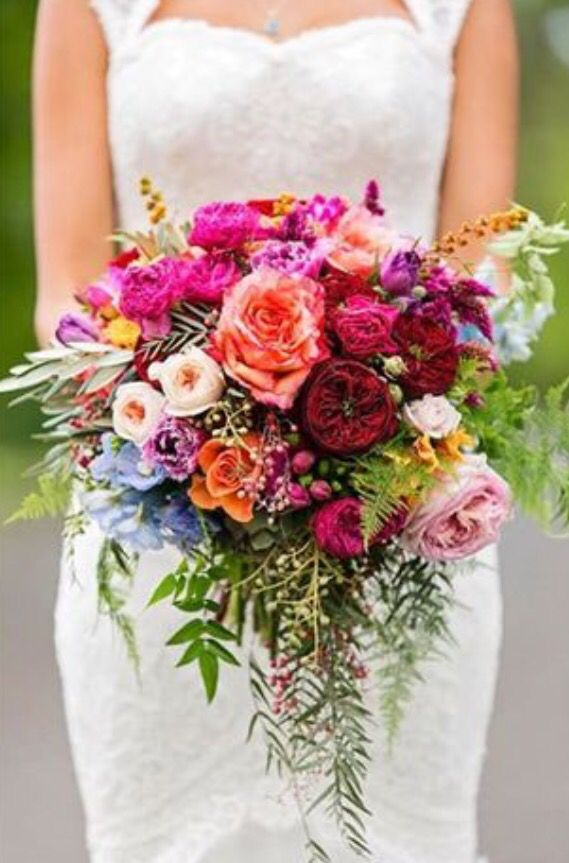 #bouquet One of Australia's prettiest bright and Colourful wedding bouquets