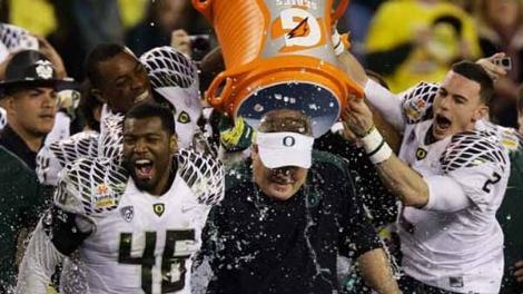 Ducks finish No. 2 in final AP, USA Today Coaches polls.
