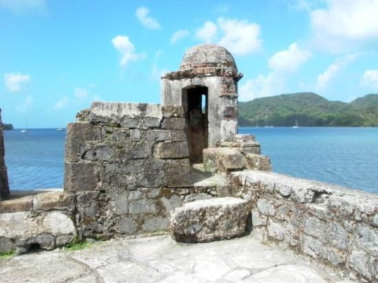 Fort San Lorenzo - Colon, Panama i think me and my sons were climbing around on this long ago! got to save to camera!