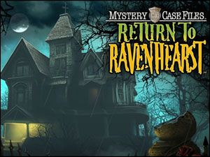Return to Ravenhearst hidden object puzzle computer game