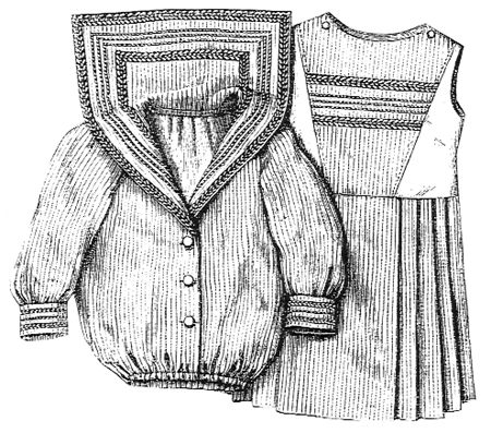 little girl sailor dress pattern