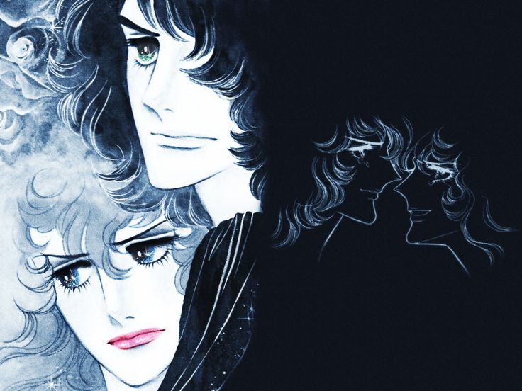 Oscar and Andrè - the-rose-of-versailles Wallpaper
