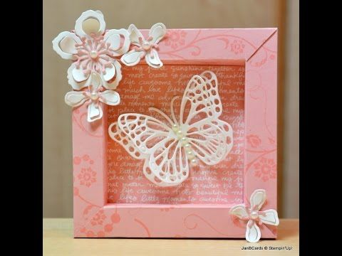 Shadow Box - JanB UK Stampin' Up! Demonstrator Independent - YouTube