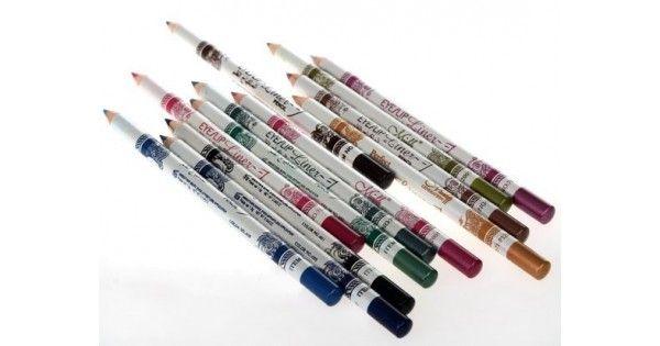 12 unids/lote 12 colore Glitter esmeralda Eyeliner delineador de labios y ojos maquillaje a prueba de agua
