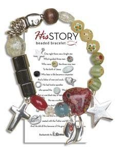 Each Bead And Charm On The Bracelet Represents A Part Of Story Christ Electronics Computers Accessories Pinte