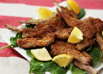 Crumbed lamb cutlets recipe | Meat