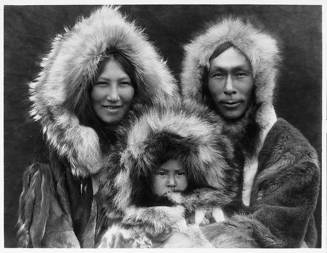 Native American Edward Curtis Noatak Family by griffinlb, via Flickr