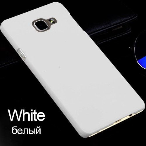 Rubberized Matte Frosted PC Hard Case For Samsung Galaxy A5 A3 A7 2016 S6 S7 Edge S8 Plus Slim Cover