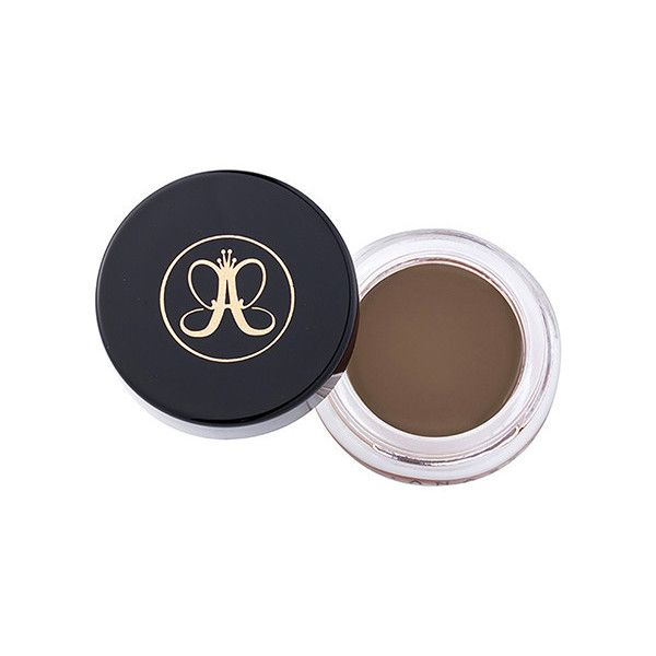 Anastasia Beverly Hills Dipbrow Pomade - Soft Brown 4g   Makeup  ... ($21) ❤ liked on Polyvore featuring beauty products