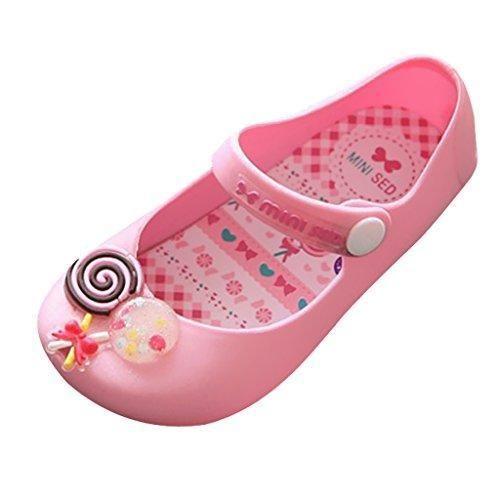 Oferta: 4.84€. Comprar Ofertas de Piruletas Zapatos Sandalias Zapatos De Jalea Mary Jane Pisos Para Muchacha Niñas - 28, Rosa barato. ¡Mira las ofertas!