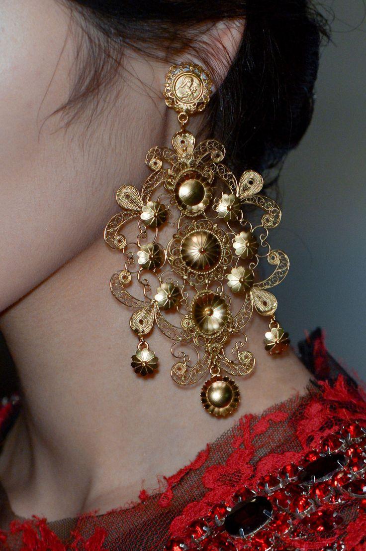Los aros...pero en una nueva dimensión #Dolce&Gabbana