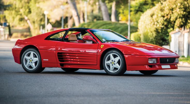 This 1994 Ferrari 348 GTS Only Got Better With Age. Simply stunning.