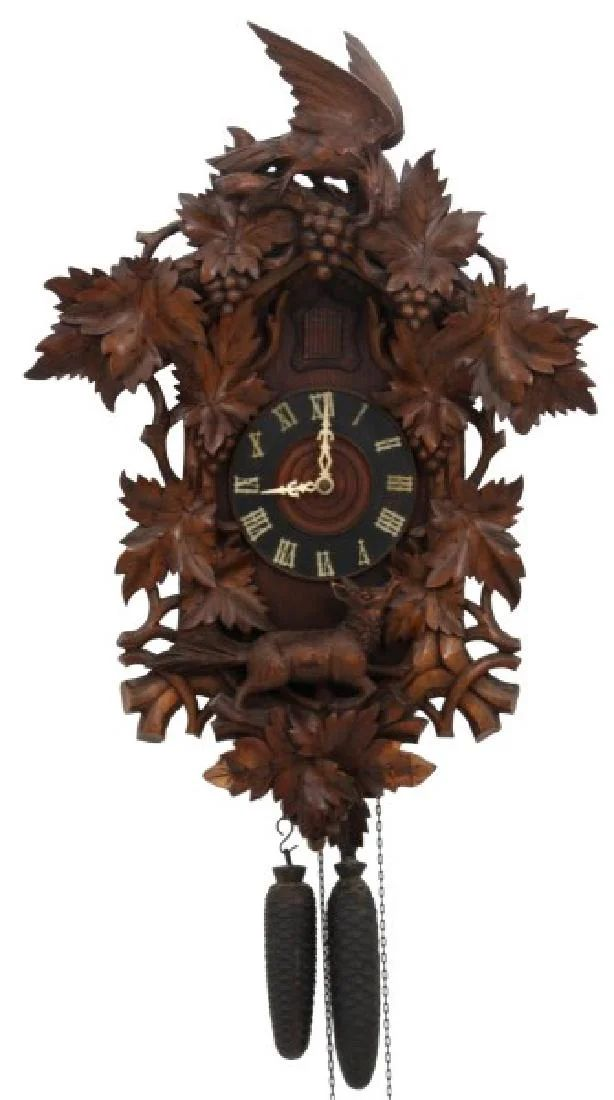 Black forest girl pendulum clock, david bromstad nakee