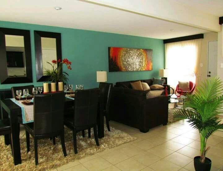 17 mejores ideas sobre decoraci n del hogar de color for Decoracion hogar verde