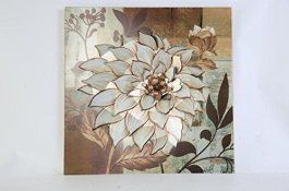 Metal Wall Art is super cool, trendy and stylish especially  for rooms such as offices and kitchens.   In fact, there is a wide variety of metal wall art from crazy abstract  metal wall art to beautiful floral metal wall art.  #metalwallart #homewallartdecor #homedecor      TWG Metal Wall Art Modern Wall Sculptures: Dahlia Flowers - Oak Garden Beige