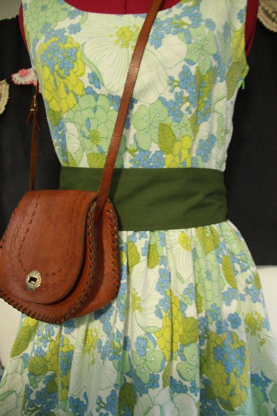 Handmade floral vintage 1950s tea dress by FudgieBudgie on Etsy, $85.00