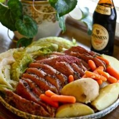 Corned Beef and Cabbage #recipe #beef Rocky said I should have this on holiday must haves!