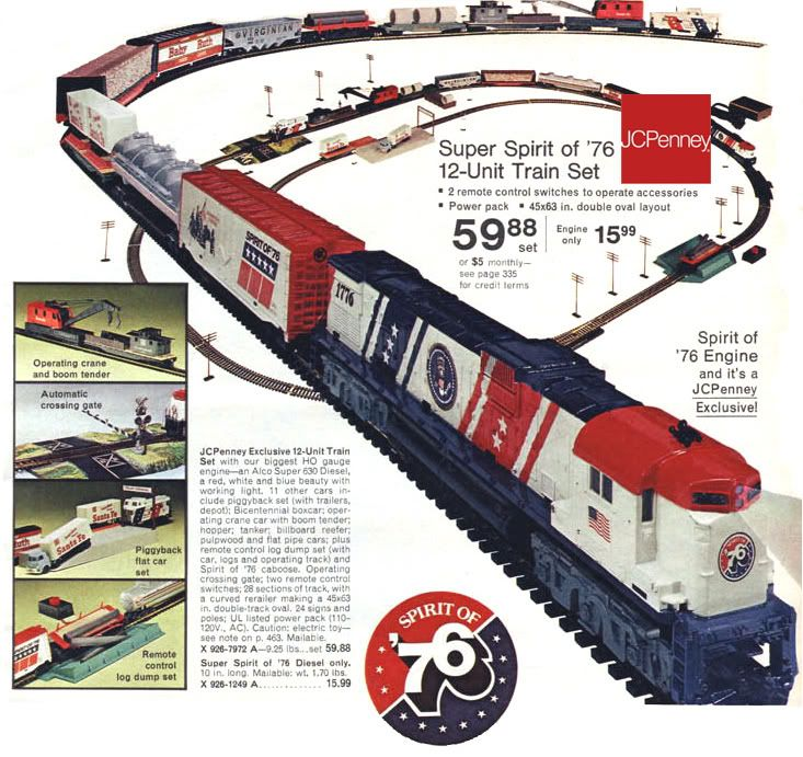 Tyco Brown Box: Montreno: Access Ho Trains Spirit Of 76
