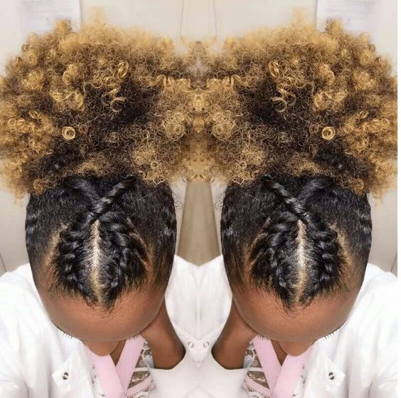 Stupendous 1000 Ideas About Short Natural Hairstyles On Pinterest Kinky Hairstyle Inspiration Daily Dogsangcom