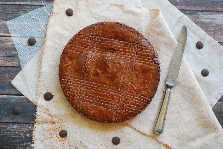 Gateau basque tout chocolat - http://www.confitbanane.com/