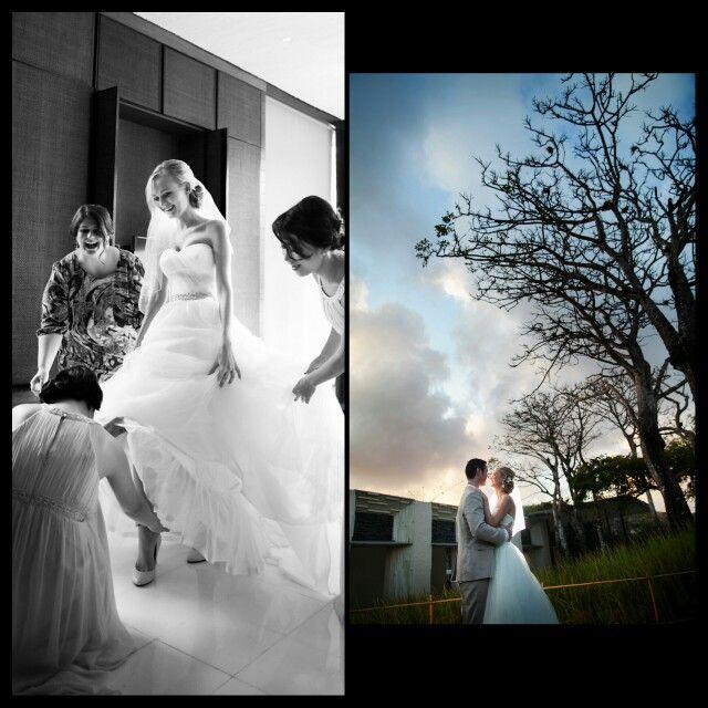Bride in white | AKIphotograph  #alilavillasuluwatu #baliwedding #weddingphotography #weddinginspirations #destinationweddings #weddingideas