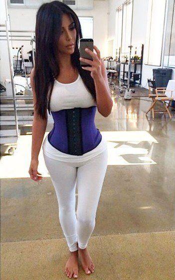 100% Authentic Colombian Rubber Waist Trainer corset Shape wear waist training