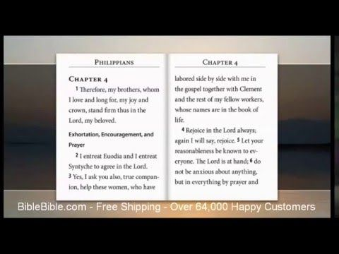 ESV Video Bible, Audio Bible & text, voice only by David Heath - YouTube