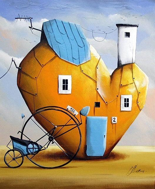 Sweet home by SztuknijSie on Etsy