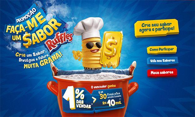 Desafio você a criar um sabor de Ruffles melhor que Coxinha!