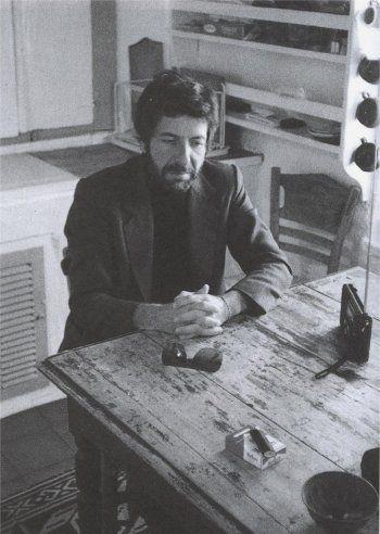 "fot. Alberto Manzano (Hydra 1980)  From ""Cohen"" byPiotr Bratkowski"