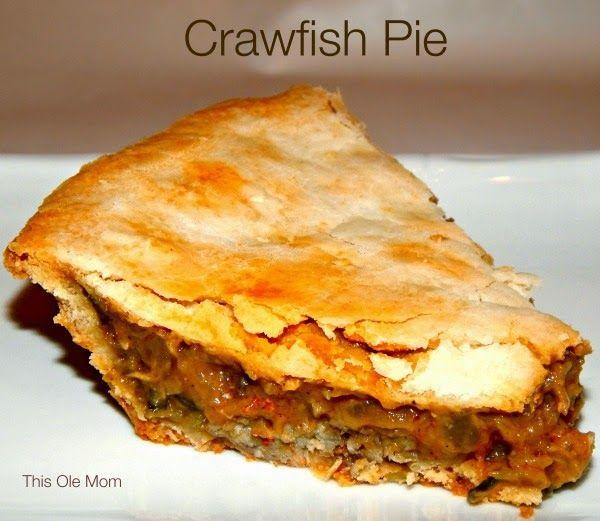 Crawfish Pie Recipe - we gotta eat this now!