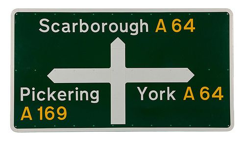 Jock Kinneir & Margaret Calvert designers of the British road signs system (1960s)